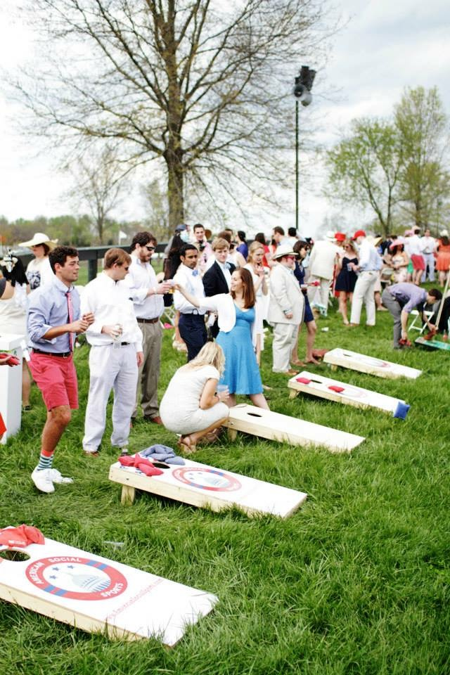 University Row at Gold Cup