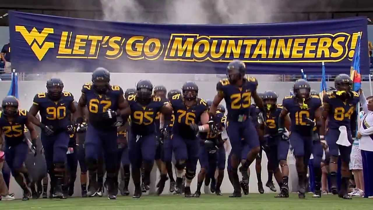 The WVU Mountaineer football team is ready to go this season! Are you?